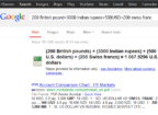currency converter with Google