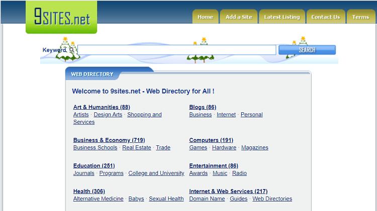 9Sites web directory