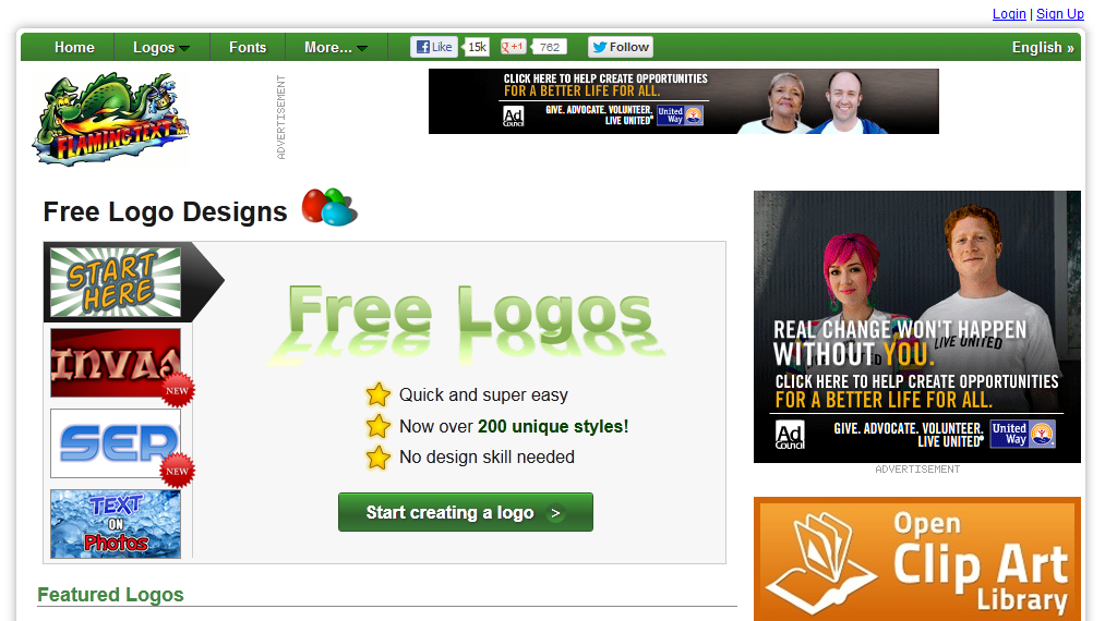 top 5 websites to design logos online for free