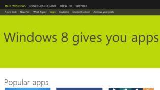 Windows 8 Apps Store