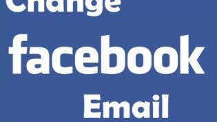 Change Facebook Email