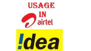 Check Interent balance in Idea, Docomo and Airtel