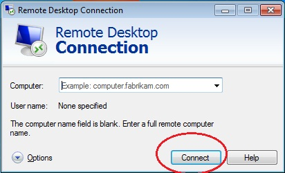 Connect Desktop Remotely