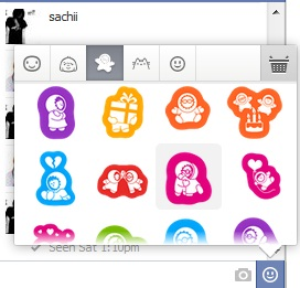 Send sticker