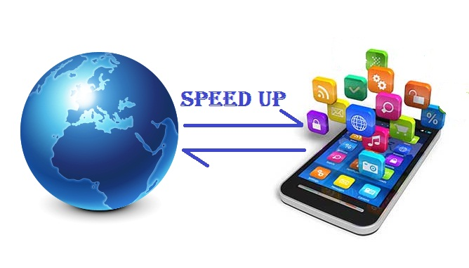 Speed up Internet in mobile
