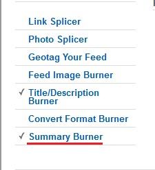 Summary Burner