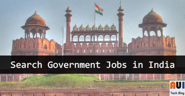 Search Govt Jobs in India