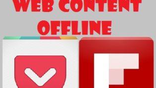 Apps to read web content offline