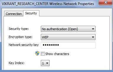 Open wireless security