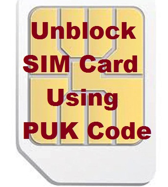 How To Find Your PUK Code To Unblock Your SIM Card
