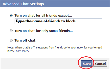 Block Friends