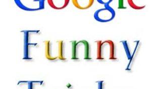 Google Funny Tricks