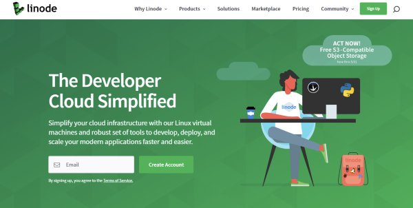 Linode - Cloud Hosting Platform