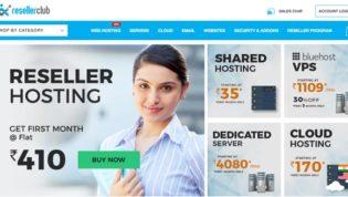 ResellerClub Web Hosting Company