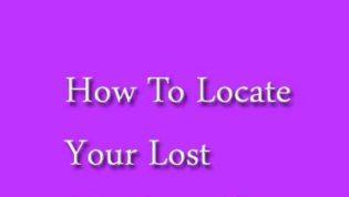 Locate lost Windows Phone