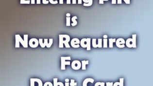 PIN Required For Debit Card