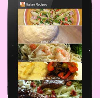 Italian Recipes-Recipe Book