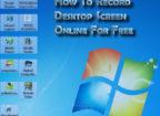 Record Desktop Screen Online For Free