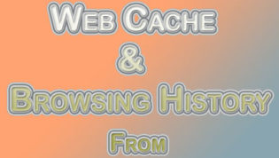 Clear Web Cache & History From Firefox