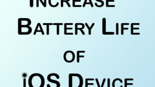 Increase Battery Life of iOS