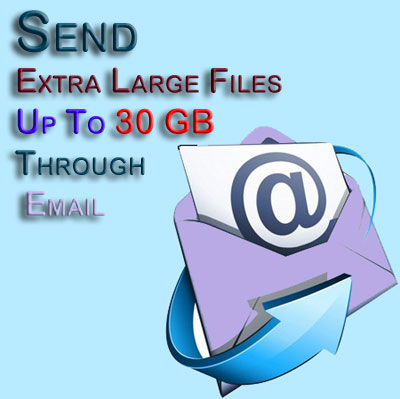 Transfer Large Files Via Email