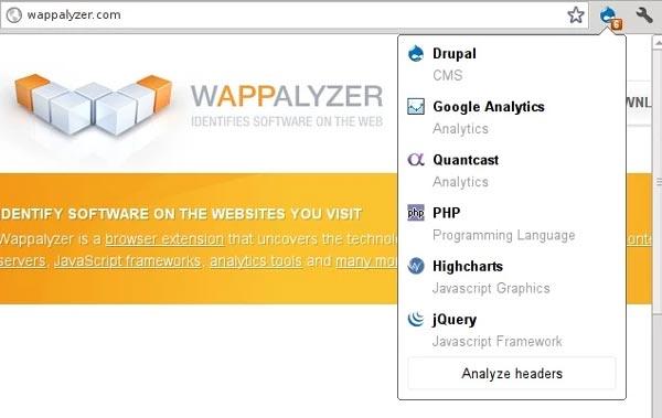 Wappalzer