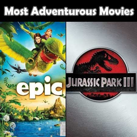 Most Adventurous Movies