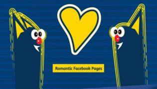 Romantic Facebook fan pages