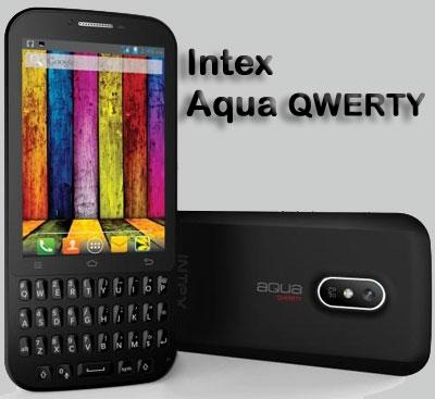 Intex Aqua Qwerty
