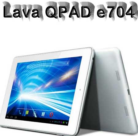 Lava QPAD e704