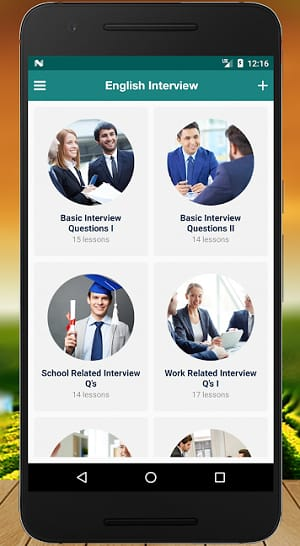 Interview English Android App