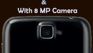 Android Smartphones with 8 MP camera