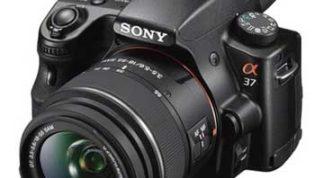 Sony Alpha A37K SLT DSLR