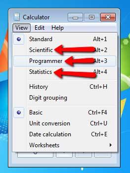 Use calculator as scientific programmer