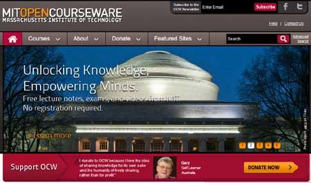 MIT OCW - Free Online Courses