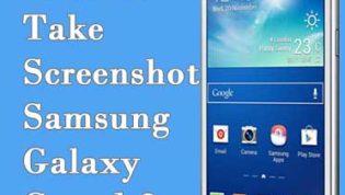 Take Screenshot in Samsung Galaxy Grand 2