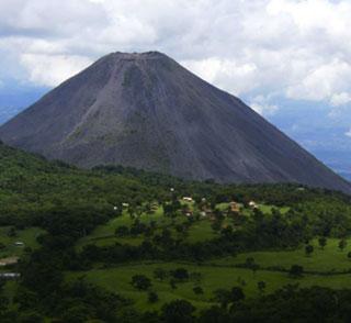 El Salvador volcano