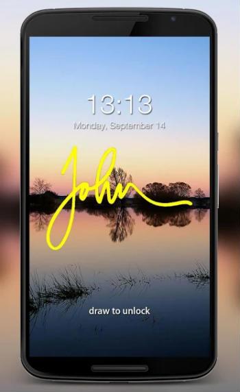 Gesture Lock Screen Android App
