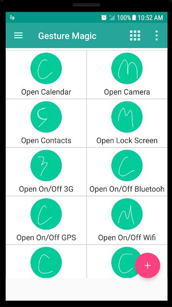 Gesture Magic app