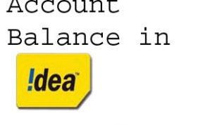Check Balance in Idea, Airtel, Reliance