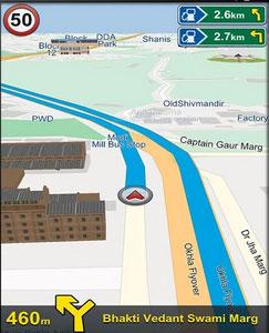 MapmyIndia NaviMaps App