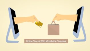 Online stores with worldwide shipping