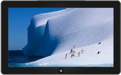 Antarctic Windows 7 theme
