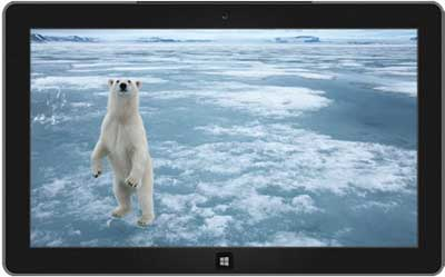 Arctic- Free Windows 7 Theme