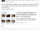 Facebook status embedded in WP Blog post