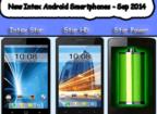 Intex new phones - Sep 2014