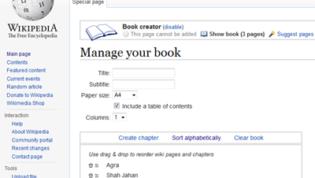 Manage wiki ebook