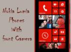 Nokia Lumia front camera phones