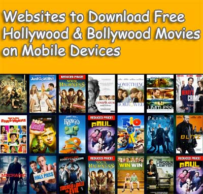 Sites to download free movies on Mobile