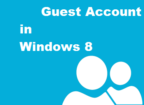 Turn on or off Guest Account in Windows 8